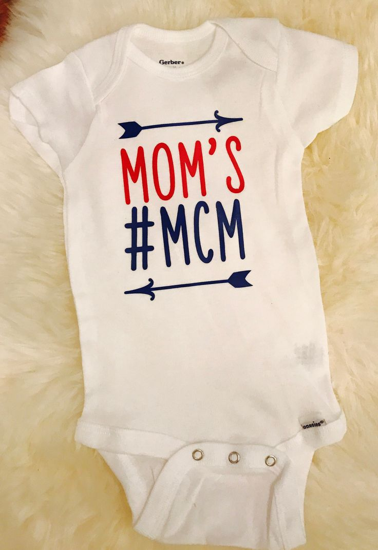 A personal favorite from my Etsy shop https://www.etsy.com/listing/558036090/moms-mcm-man-candy-monday-onesie