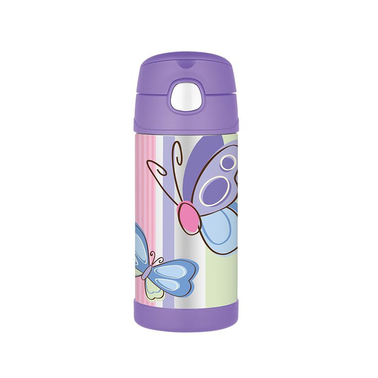 Thermos FUNtainer Drink Bottle 355ml Butterfly | Babies R Us Australia