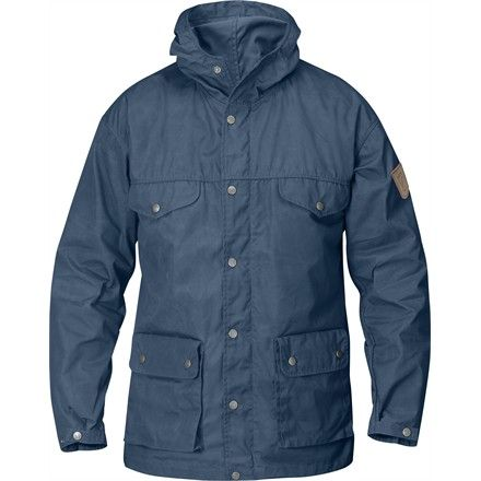 Manteau Greenland Jacket de Fjällräven pour homme en tissu G-1000.