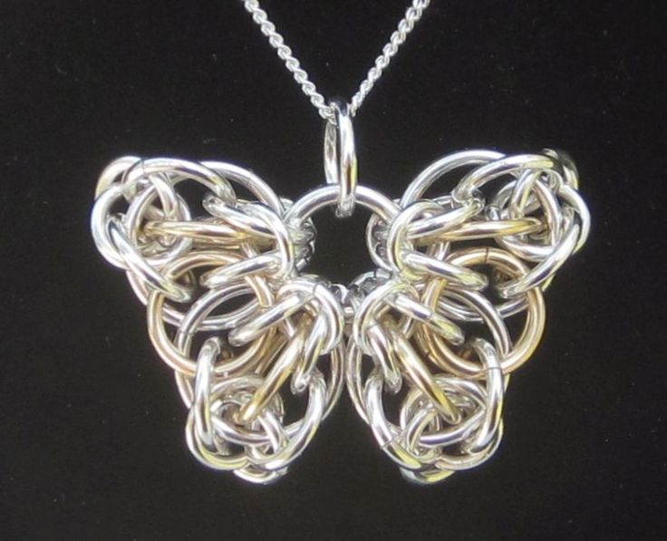 Celtic Butterfly Pendant - Dave Cain Handcrafted Jewelry. Want to buy!