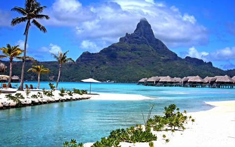 Francia Polinézia, Bora Bora. Borabridge