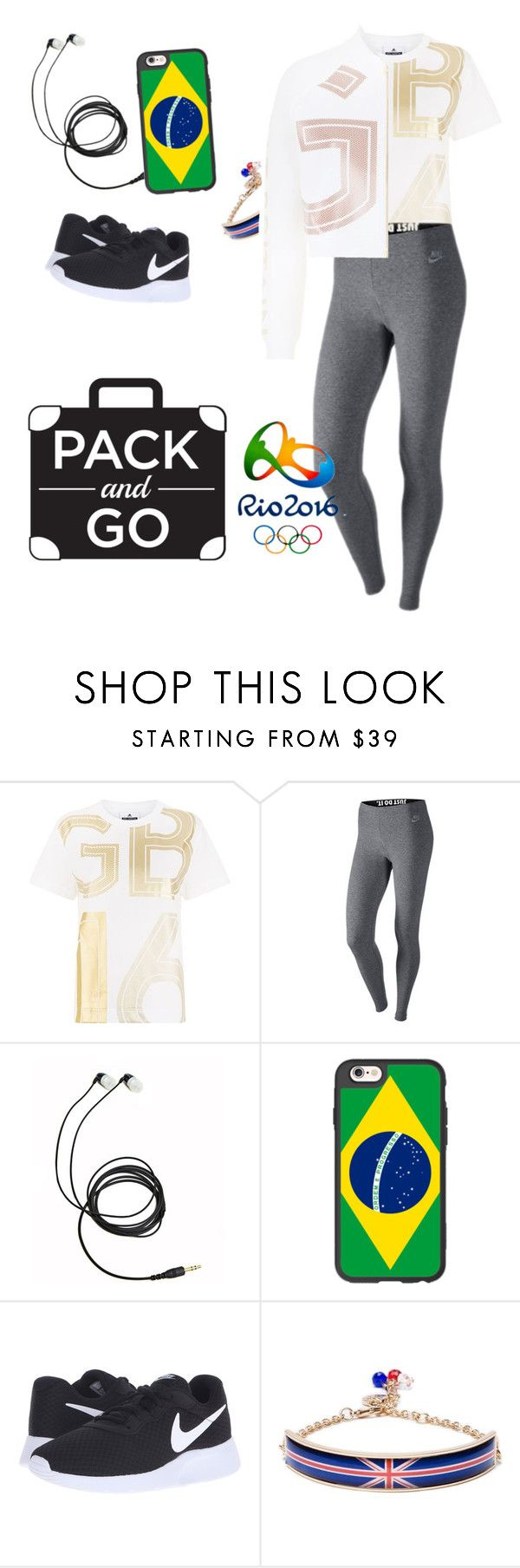 """""""Team GB"""" by mishka200426 ❤ liked on Polyvore featuring adidas Originals, NIKE, Casetify and adidas"""