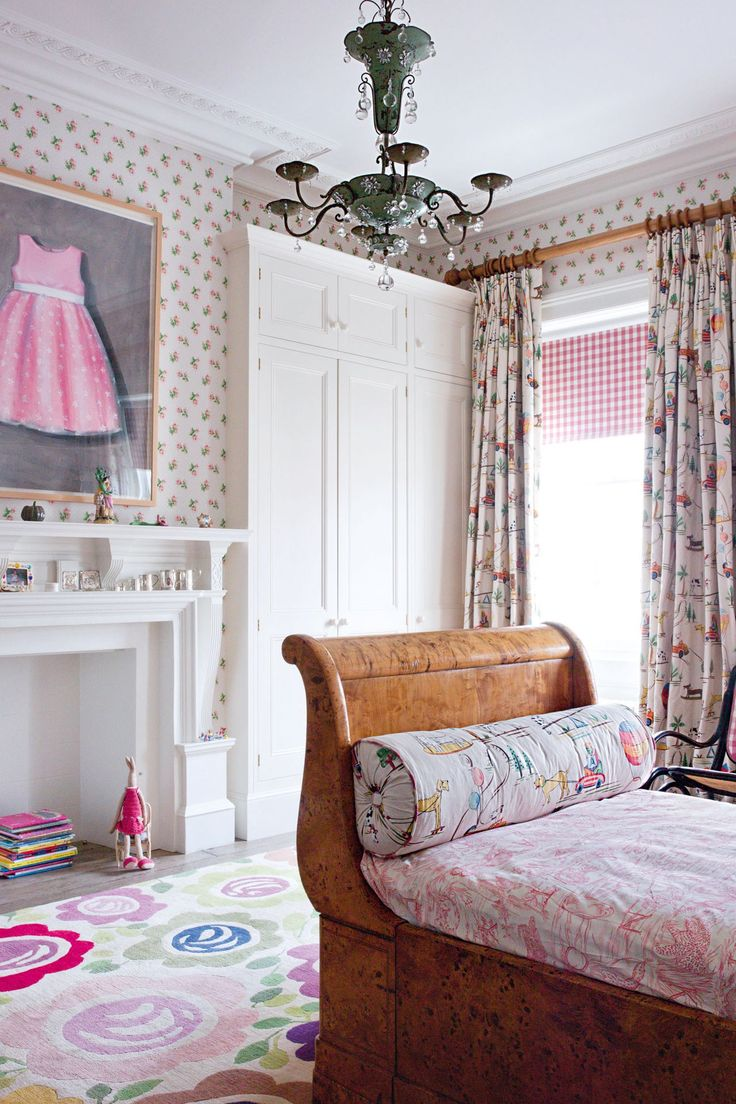 Designer small basement window curtains and pink kids plaid cute kids - 146 Best Children S Rooms Images On Pinterest Children Room And Girls Bedroom