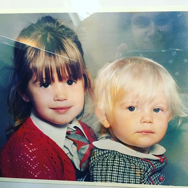 Pin for Later: Your Favourite British Celebrities Were Even Cuter as Kids! Gemma and Hannah Arterton