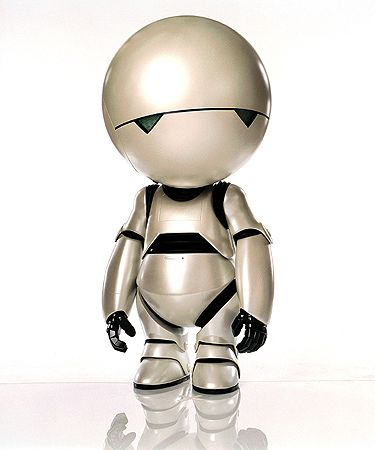 5. Marvin - Hitchhiker's Guide To The Galaxy (2005) - Top ten movie robots - Pictures - Movies - Virgin Media