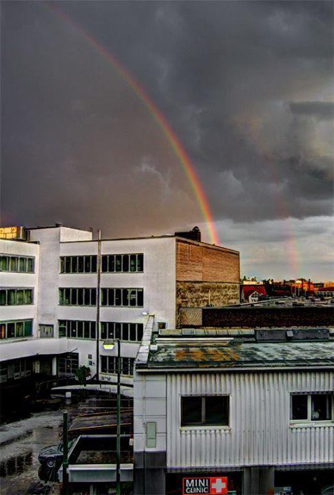 Rainbow in Gallus,Frankfurt Germany