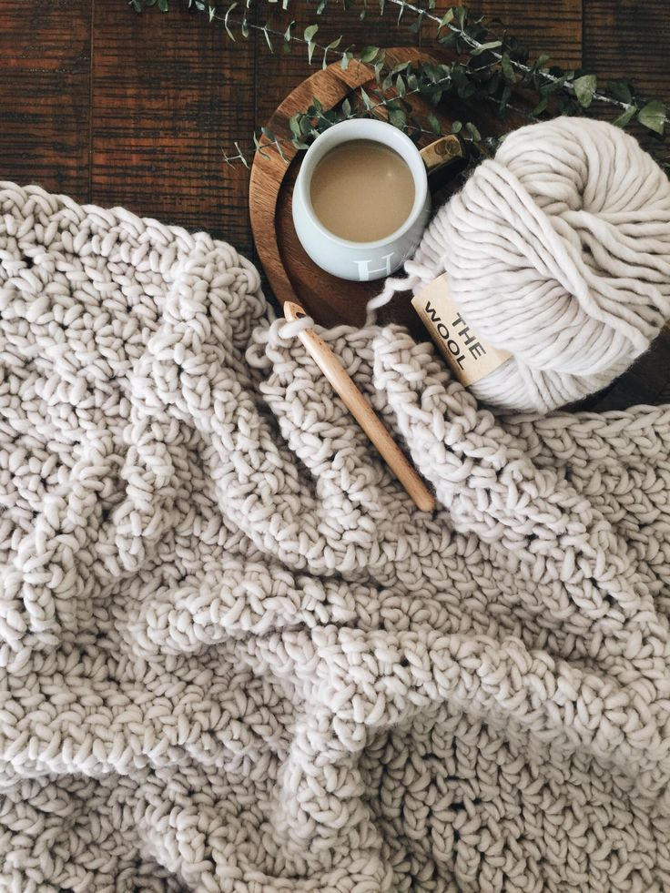 Knitting Blanket Connected To Your Roots
