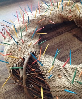 Crown of thorns. Assign each child a color and let them remove a thorn each time they make a sacrifice or make a charitable act. Goal is to have all thorns gone by Easter!