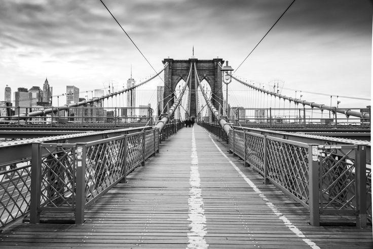 Brooklyn Bridge B W by James Preuss on 500px