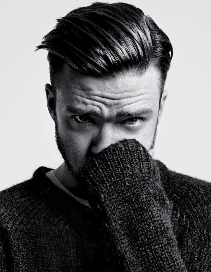Justin Timberlake shot by Hedi Slimane