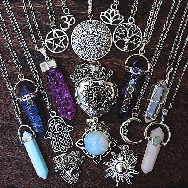 Pendents to wear on a choker