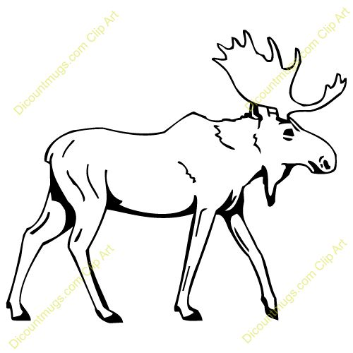 moose track coloring pages - photo#16