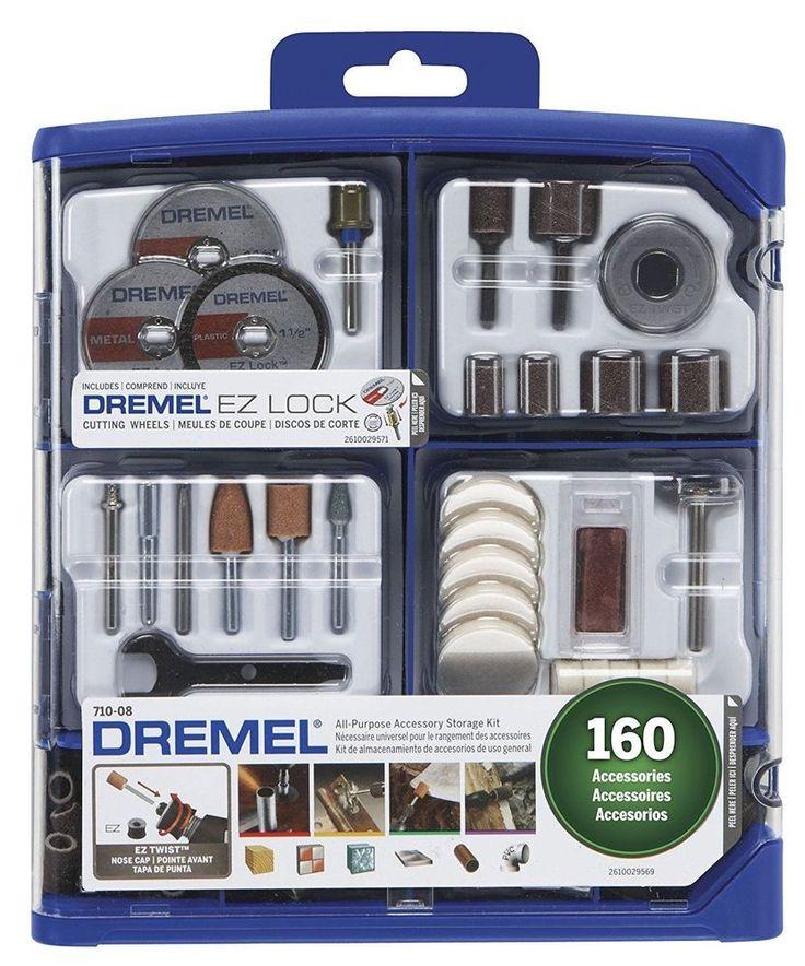 Dremel Accessory Kit All Purpose Rotary Accessory Piece Kit Hand Tools New #Dremel