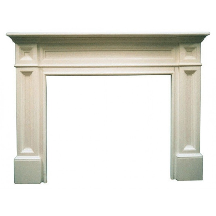 Pearl Mantels The Classique Fireplace Surround: Fireplaces Mantles, Fireplaces Mantels, Classiqu Fireplaces, Fireplace Surrounds, Mantels Surroundings, Classiqu Mantels, Fireplaces Surroundings, Pearls Mantels, Woods Fireplaces