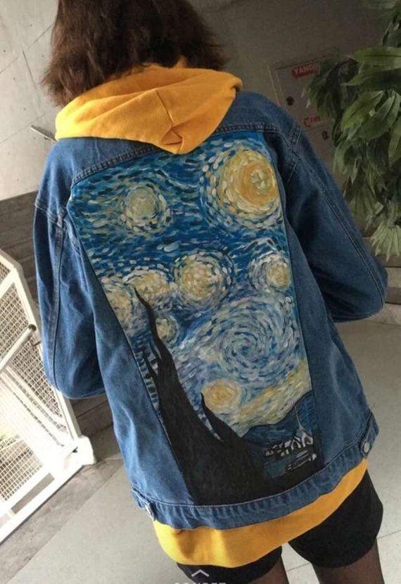 170732c9ebd Hand Painted Jacket