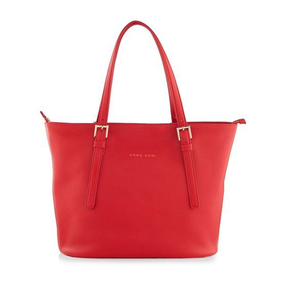 leather bags, purses, bags, leather calf, inside zipper pocket, zipper closure, leather bags MADY BOTT ROSSO