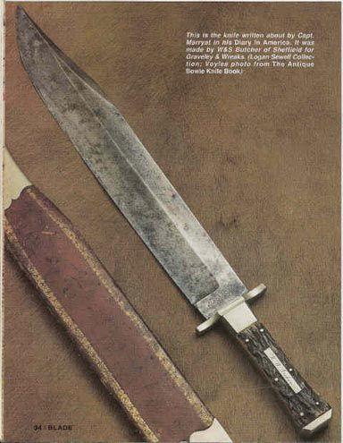 MÉXICO ARMADO - En pro de la cacería responsable, el tiro deportivo y la cultura de las armas - Origen del cuchillo Bowie