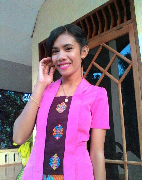 Tenun NTT blouse