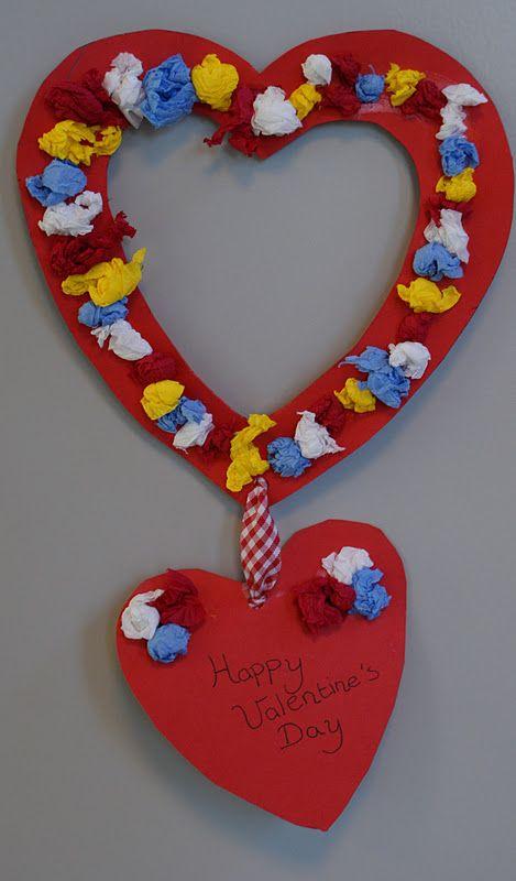 valentijn knutselen peuters - Google zoeken