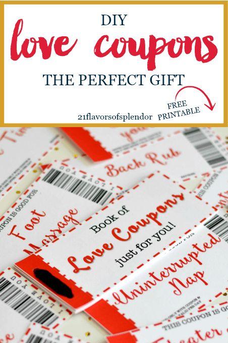Diy coupon book for boyfriend ideas