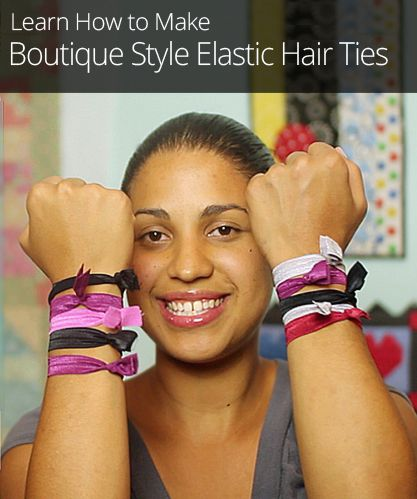 Homemade hair accessories have come a long way since the days of the scrunchie. These homemade hair bands are stylish, sophisticated, and totally easy to make!