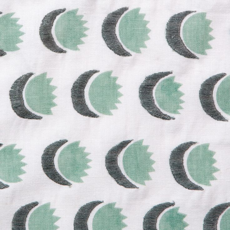 Sun and Moon Fabric in Dennis Green