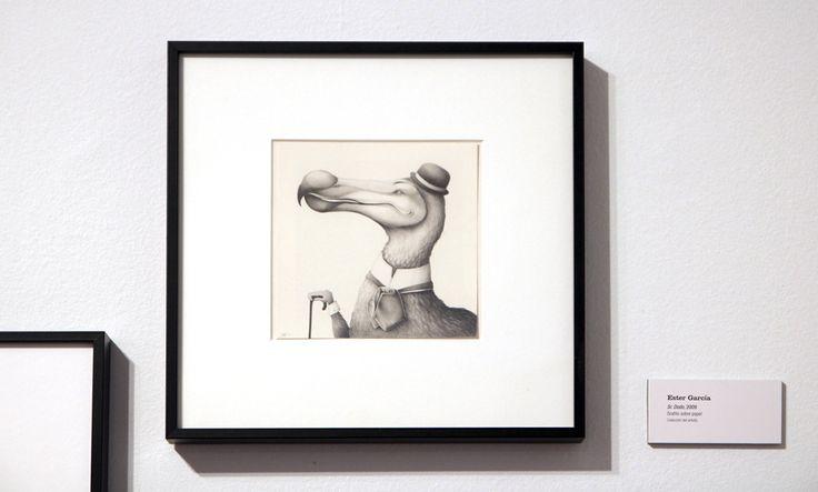 Ester García | Sr. Dodo, 2009 | Grafito sobre papel