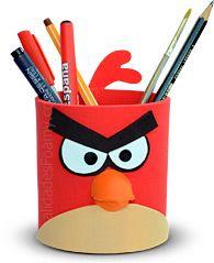 Moldes Foamy Goma Eva Angry Birds