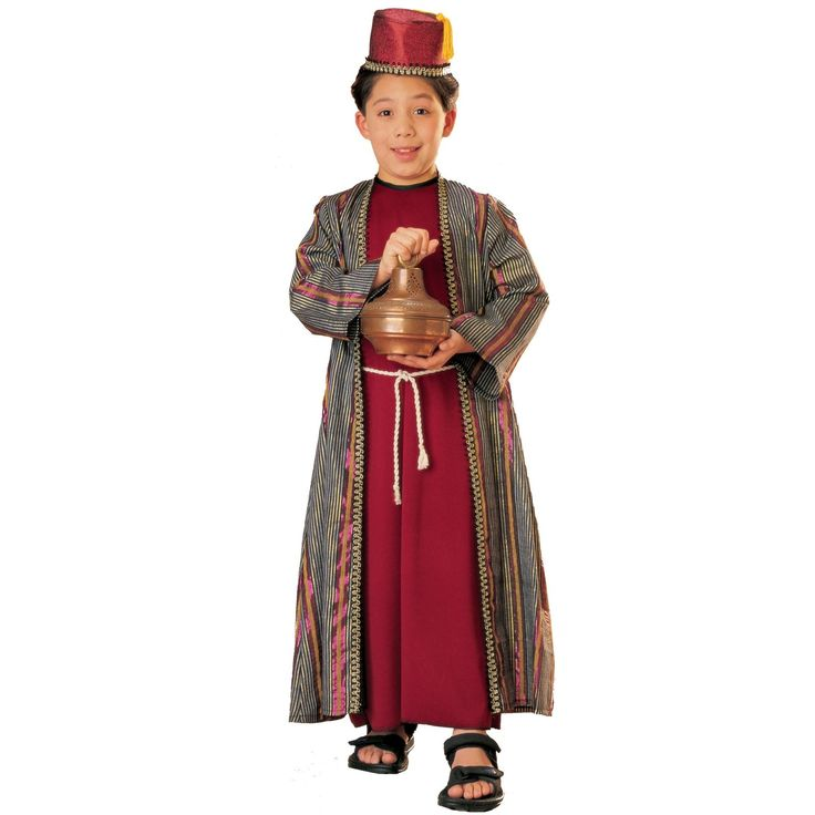 Wise Man Costume Kids & Blue Wise Man Casper Costume Kids Sc