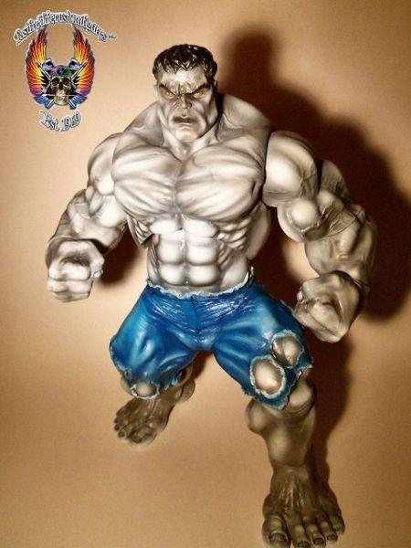 Gray Hulk (Incredible Hulk) Custom Action Figure