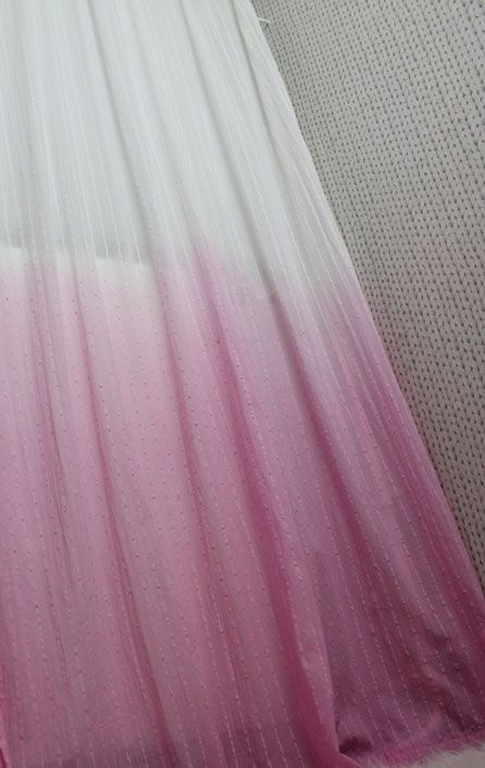 D.I.Y. Dip dye ombre gordijnen | No Shoes Styling