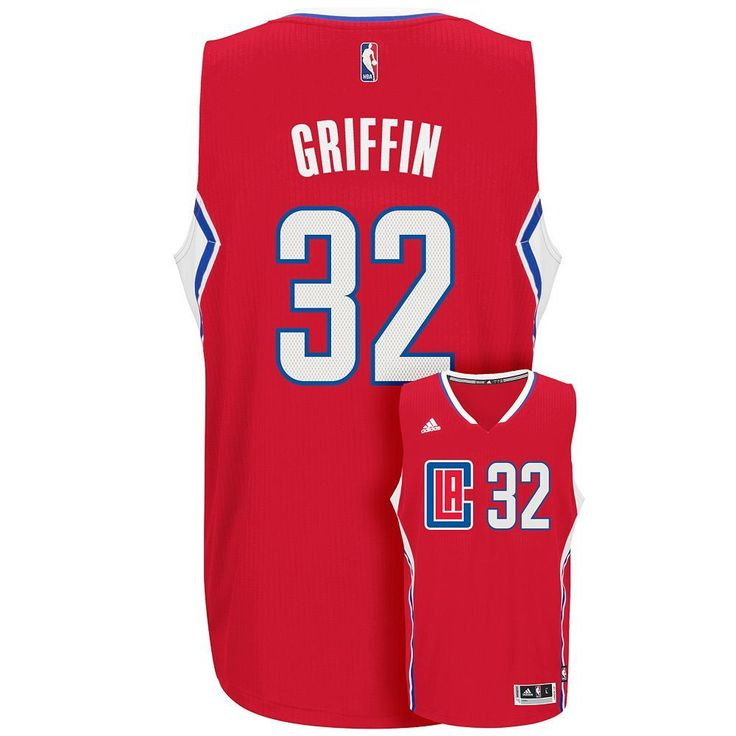 Men's Adidas Los Angeles Clippers Blake Griffin Jersey, Size: Large, Red
