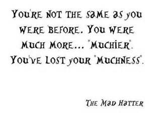 alice in wonderland the mad hatter quotes