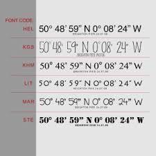 Image result for coordinate tattoos font – – #Uncategorized