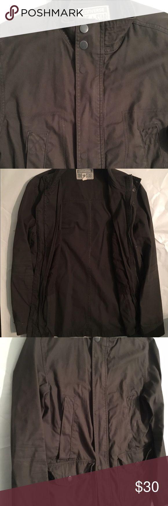 Classic Men's Converse Jacket Mint Condition Men's Converse Jacket.Chest Pockets. Size L Converse Jackets & Coats Military & Field