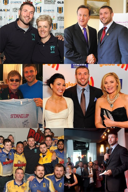 Ben Cohen and his foundation(Stand Foundation). He fights against any kind of bullying for anyone.Foundationstand Foundation, Foundation Stands Foundation, Standup Foundation