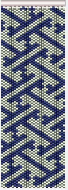 Мозаичные браслеты (несколько схем)