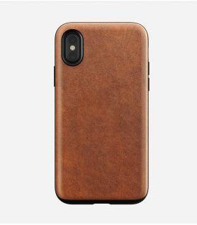 Etui en cuir pour iPhone X - Nomad