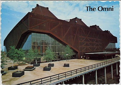 The Omni, completed in 1972, was an indoor arena and part of the Omni Complex in downtown Atlanta (now known as the CNN Center); On July 26, 1997, the Omni was demolished; Philips Arena, which was constructed on the former site of the Omni, opened on September 18, 1999.