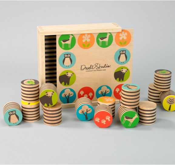 WOODLAND MEMORY GAME   | Dwell Studio