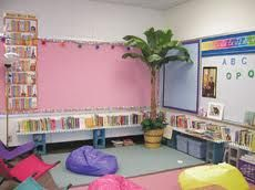 I'm going to have a cute set up in my classroom like this :)