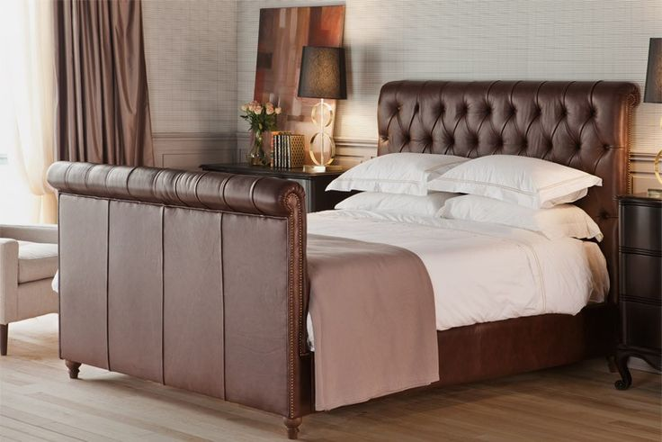 Chesterfield Bed Upholstered