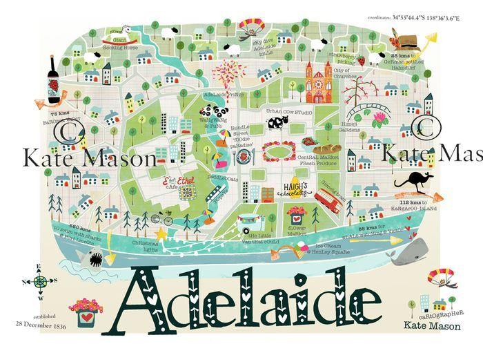Adelaide in South Australia