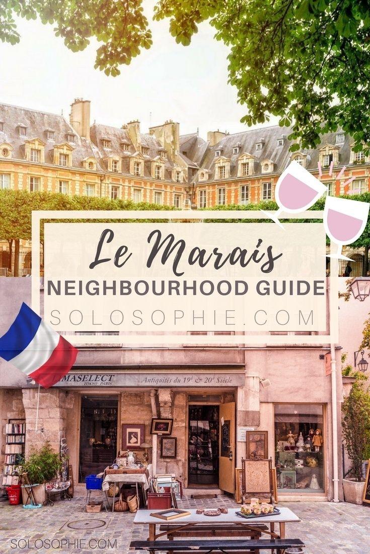 Your ultimate Parisian guide and Itinerary- Paris guide to Le Marais, things to do in Paris, France! Place des Vosges, pretty cafés, Village Saint Paul etc.