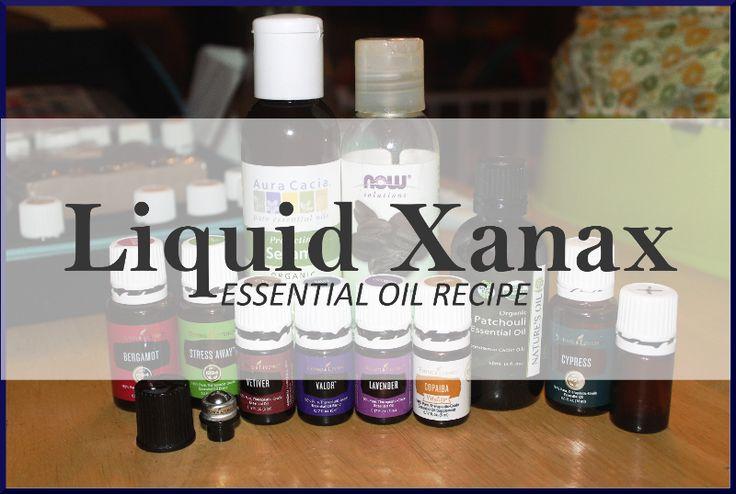 """Calm Anxiety Naturally – """"Liquid Xanax"""" Essential Oil Recipe – Unrefined Mama Oil"""