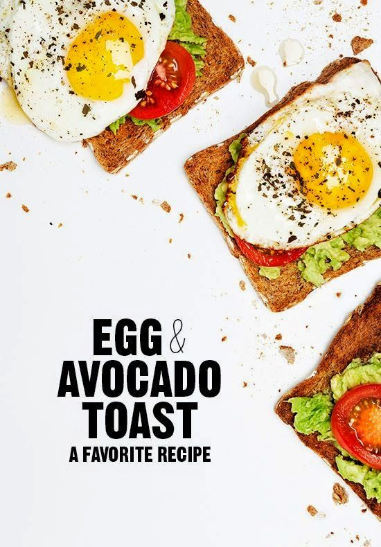 Egg  Avocado Toast. My favorite Recipe for Breackfast!
