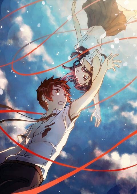 Kimi no nawa/your name/tu nombre I love this anime is one of my favorite ❤️