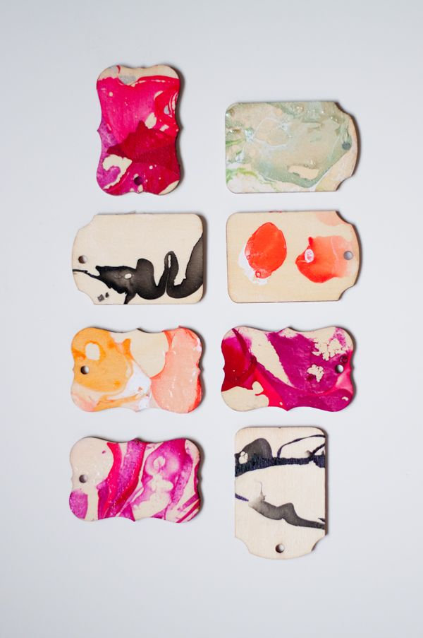DIY with Design Mom: Marbling with Nail Polish