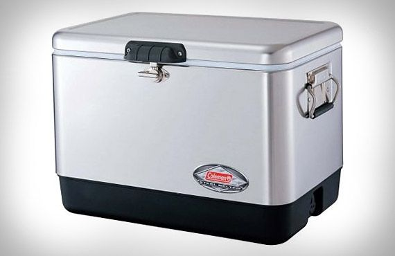 Item 2 in my Rav4: A cooler for beaching and camping  @toyotabc @yoyomama  coleman-steel-belted-chest-cooler