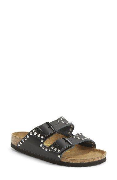 Birkenstock 'Arizona' Studded Leather Sandal (Women) available at #Nordstrom